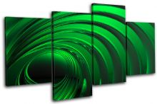 Patten Emerald green Abstract - 13-0026(00B)-MP04-LO